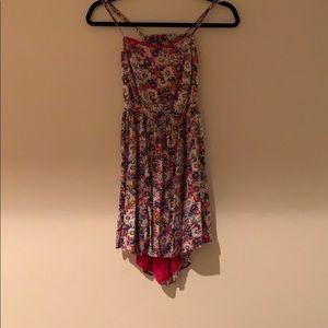 A Forever 21 Floral Designed Dress